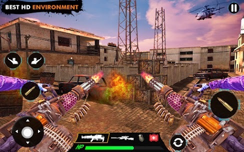 offline shooting game Mod Apk (Dumb Enemy) 2