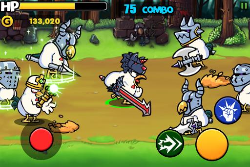 Chicken Revolution : Warrior screenshots 1