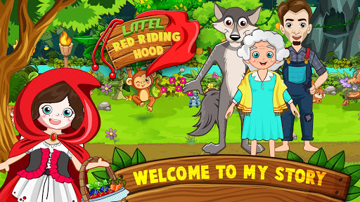 Mini Town: Red Riding Hood Fairy Tale Kids Games modavailable screenshots 5