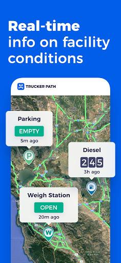 Trucker Path: Truck GPS Truck Stops Weigh Stations apktram screenshots 2