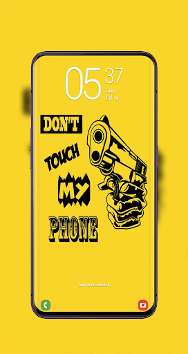 Don T Touch My Phone Wallpaper Hd 2020 By Vflzaid Google Play United States Searchman App Data Information
