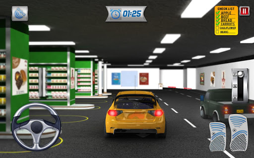 Drive Thru Supermarket: Shopping Mall Car Driving 2.3 Screenshots 14