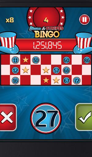 Stars and Stripes Bingo: FREE For PC Windows (7, 8, 10, 10X) & Mac Computer Image Number- 7