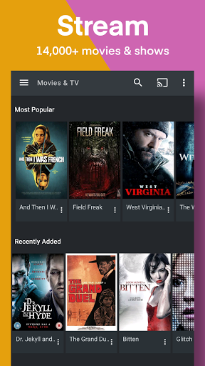 Plex: Stream Free Movies, Shows, Live TV & more 8.12.4.22902 screenshots 1