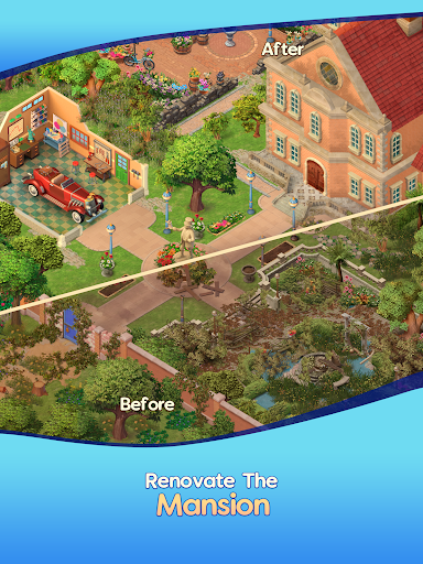 Merge Mansion - House Renovation & Design Game 1.0.0 screenshots 12