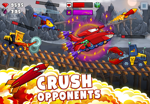 Car Eats Car 2 - Racing Game apktram screenshots 1