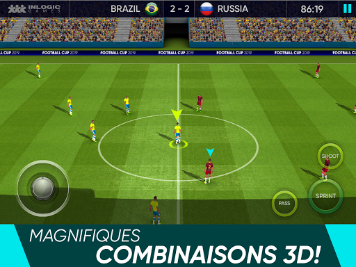 Code Triche Coupe du monde de football 2021: Ultimate League (Astuce) APK MOD screenshots 5