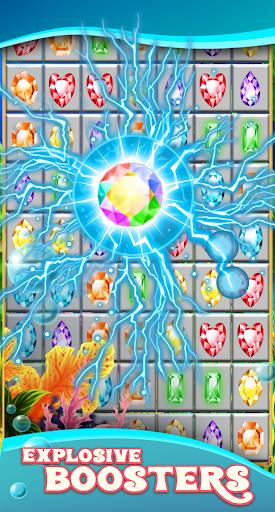 Jewels Star Atlantis Quest match 3 ss1