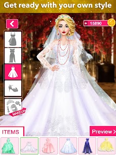 Fashion Wedding Dress Up Designer: Games For Girls 8