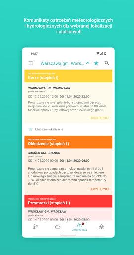 Meteo IMGW Prognoza dla Polski  Screenshots 4