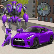 Robot Car Transforme Futuristic Supercar