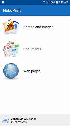 NokoPrint - WiFi, Bluetooth, USB printing 3.7.5 Screenshots 1
