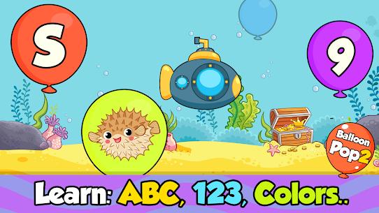 Balloon Pop : Toddler Games for preschool kids 2