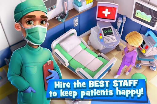Dream Hospital - Health Care Manager Simulator apkpoly screenshots 5