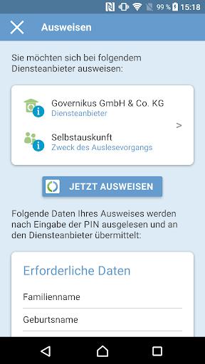 AusweisApp2 1.20.2 screenshots 2