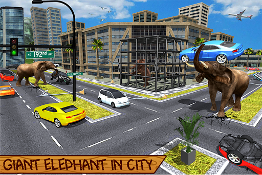 Wild Elephant Family Simulator apkpoly screenshots 2