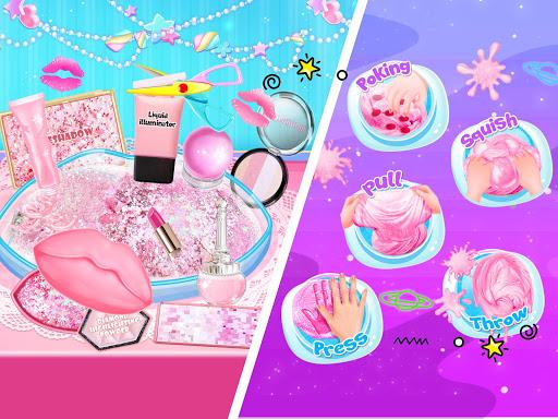 Pink Lipstick Makeup Slime 1.3 screenshots 6