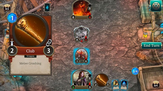 Spellsword Cards: Demontide Screenshot