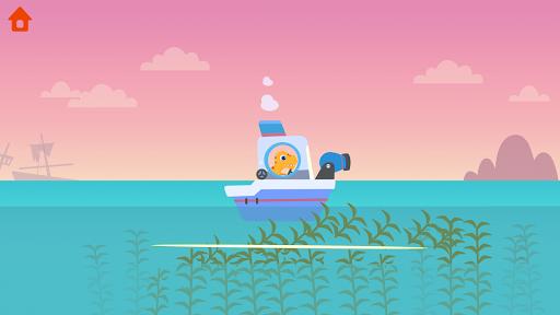 Dinosaur Patrol Boat - Coast Guard Games for kids apkmr screenshots 4