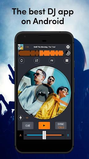 Cross DJ Free - dj mixer app 3.5.8 Screenshots 1