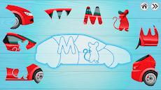 子供のための自動車パズルのおすすめ画像4
