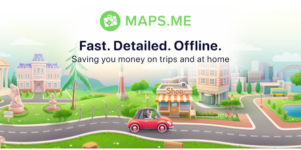 MAPS.ME - Offline maps, travel guides & navigation - Apps on Google Play