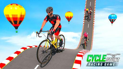 BMX Cycle Stunt Game: Mega Ramp Bicycle Racing modiapk screenshots 1