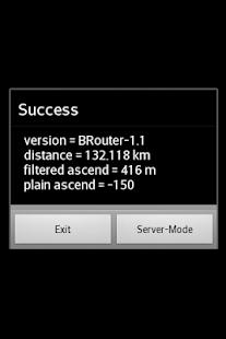 BRouter Offline Navigation