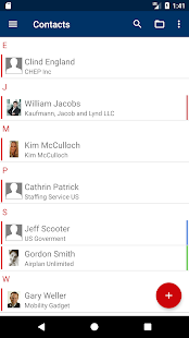 ISEC7 Mobile Exchange Delegate Screenshot