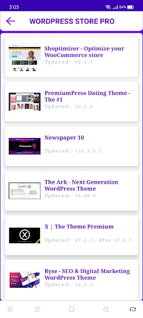 WordPress Store Pro screenshot 1