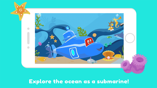 Carl the Submarine: Ocean Exploration for Kids  screenshots 1