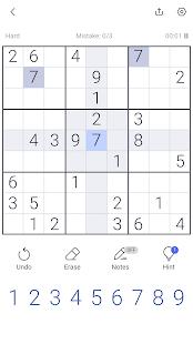 Sudoku - Free Sudoku Puzzle, Brain & Number Games 1.21.2 Screenshots 6