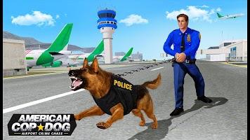 US Police Dog 2020: Airport Crime Shooting Game