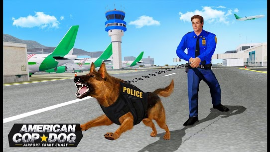 US Police Dog 2019: Airport Crime Shooting Game 4