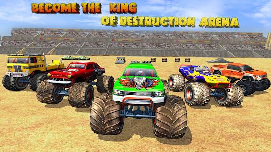 Police Demolition Derby Monster Truck Crash Games 3.3 APK screenshots 3