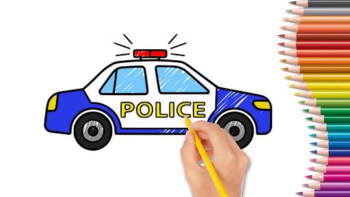 Car coloring : kids doodle drawing games for kids APK MOD Download 1