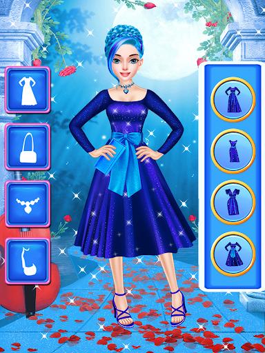 ud83dudc99ud83dudc78Blue Princess - Makeup Salon Games For Girlsud83dudc57 5.0 screenshots 3