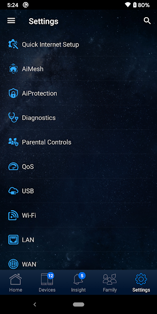 Captura 8 de ASUS Router para android