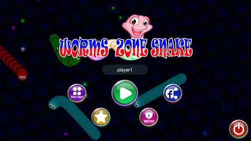 Télécharger Gratuit Worm & Snake Zone Offline 2020 APK MOD (Astuce) screenshots 1