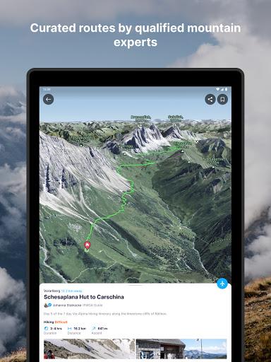 FATMAP: Hike, Bike, Ski Trails - 3D Outdoor Maps apktram screenshots 12