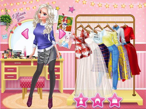 Princess College Dress up Game android2mod screenshots 4