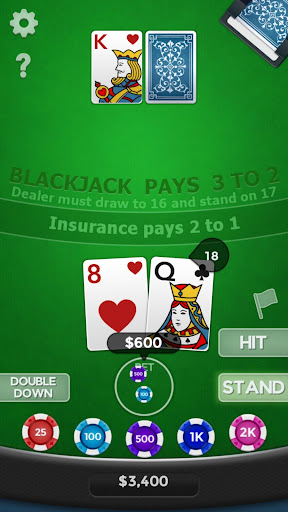Blackjack 21 1.8.1 screenshots 2