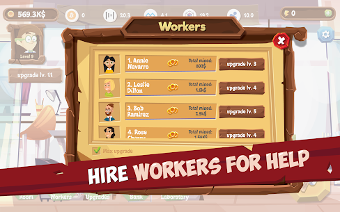 Mining Simulator – Idle Clicker Tycoon Mod Apk (Unlimited Energy) 10