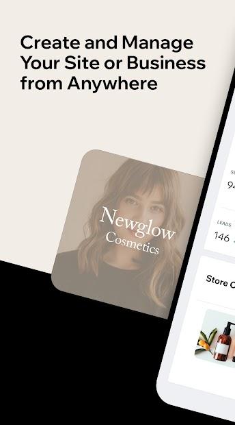 Imágen 2 de Wix Owner: crea sitios, tiendas online o blogs para android