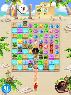 Angry Birds Match 3 MOD APK 5.1.0 (Money, Lives, Boosters) 15
