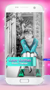 Color Clothes Photo Changer 4.0 Screenshots 1
