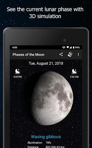 Phases of the Moon Calendar & Wallpaper Pro  screenshots 6