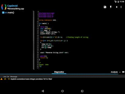 CppDroid - C/C++ IDE 3.3.3 Screenshots 12