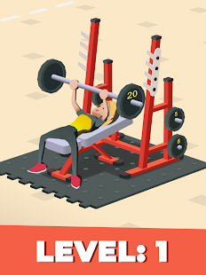 Idle Fitness Gym Tycoon - Workout Simulator Game Screenshot
