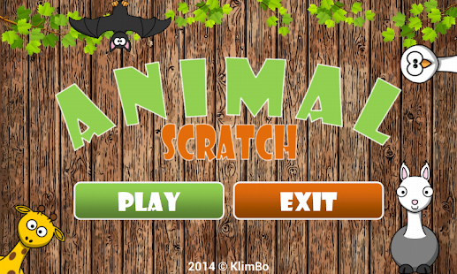 Animal Scratch for Kids 🐶🐱🐭 Screenshot